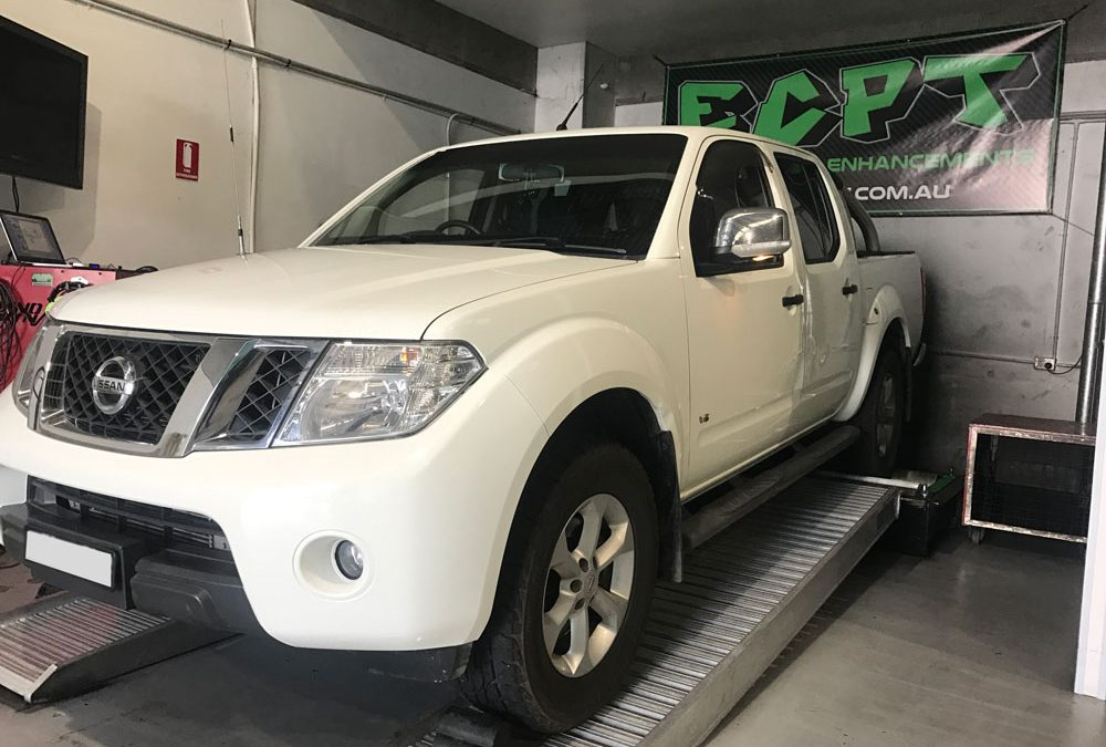Performance Results: 2012 V6 Turbo Diesel D40 550 Navara
