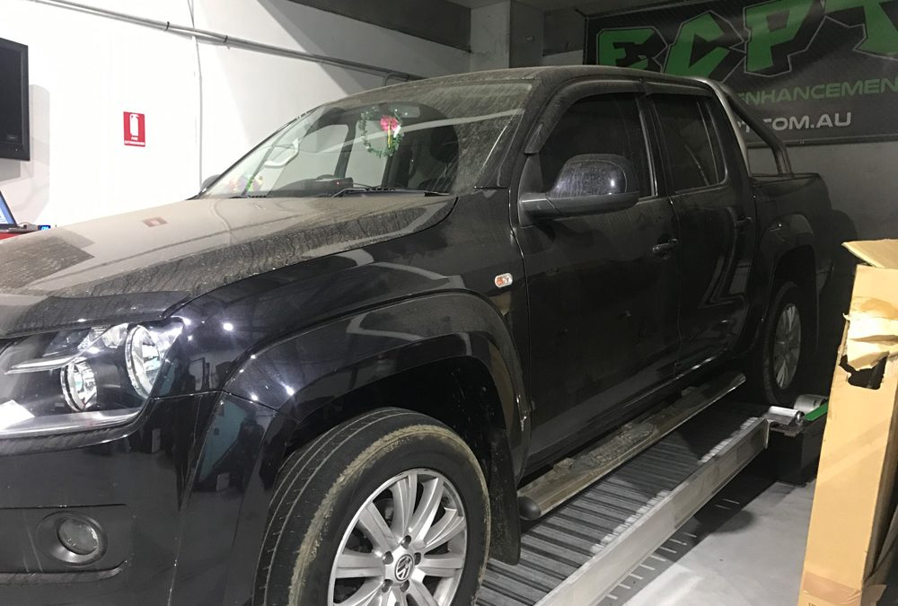 Performance Results: 2012 VW Amarok 2L Manual