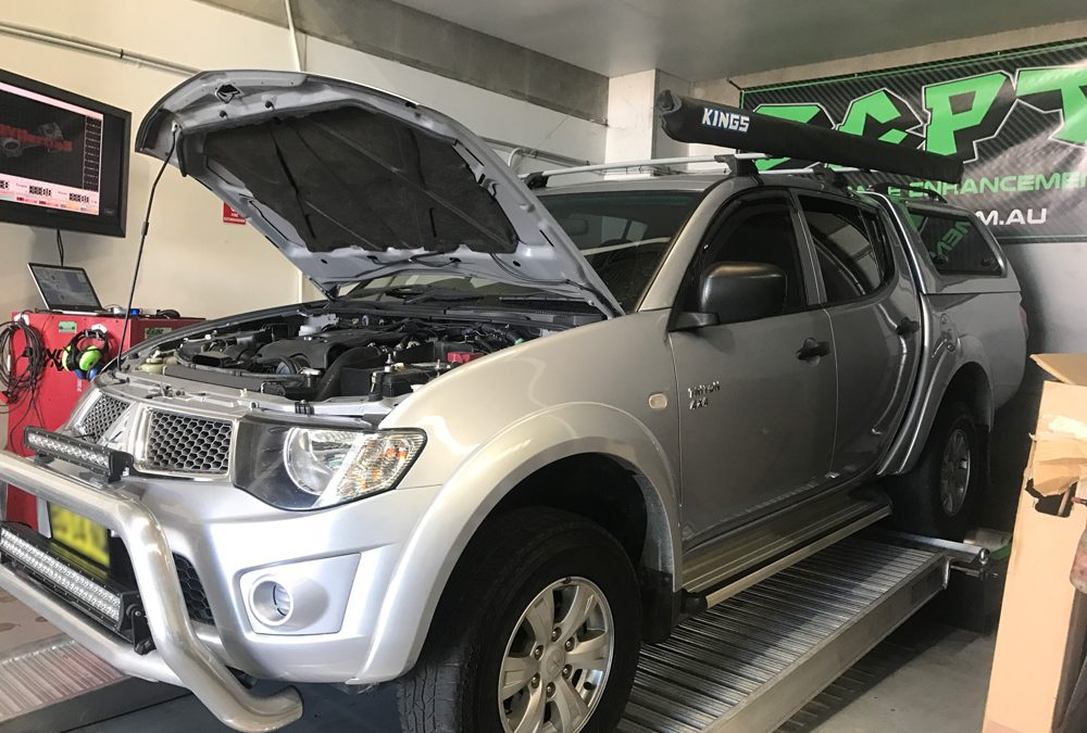 Performance Results: 2012 Mitsubishi Triton 2.5L Turbo Diesel Auto