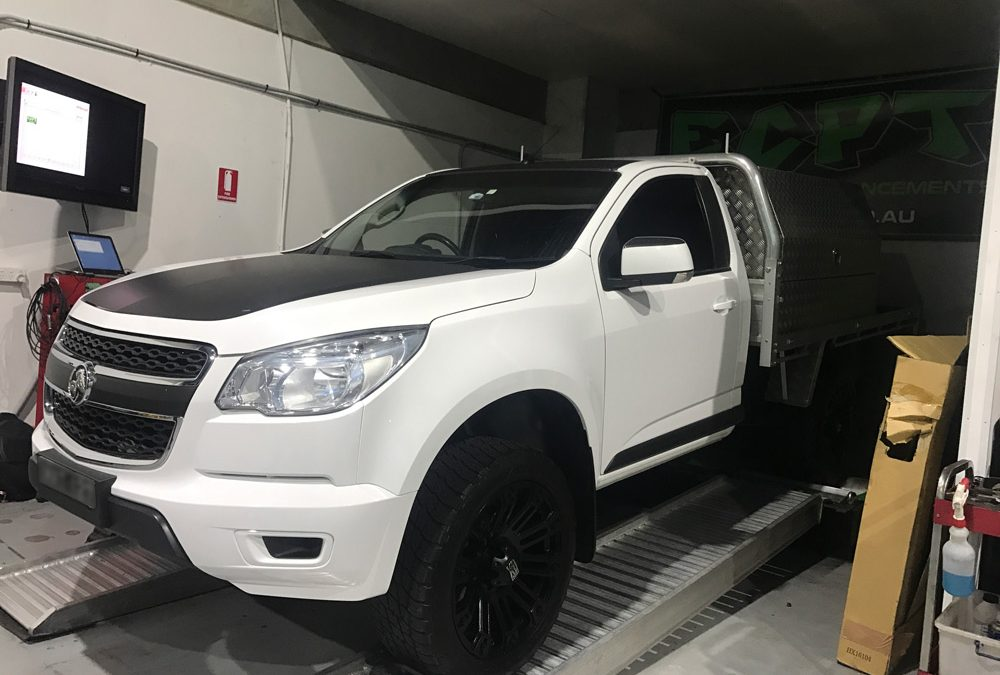 Performance Results: 2014 Holden Colorado 2.8TD Manual