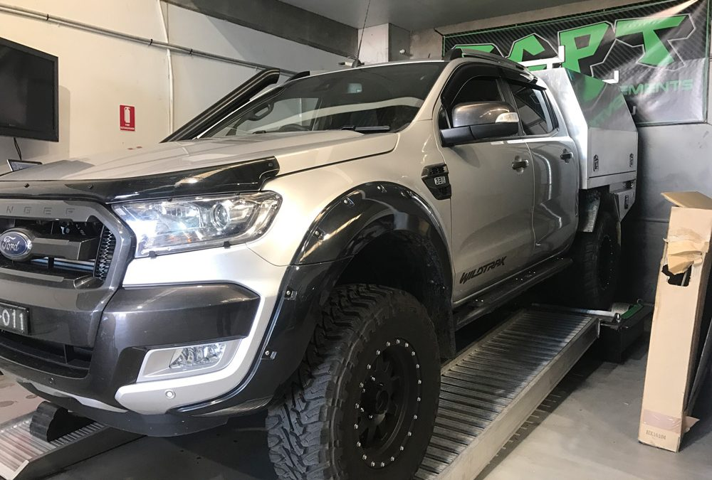 Performance Results: 2017 Ford MKII Ranger 3.2 Turbo Diesel Manual