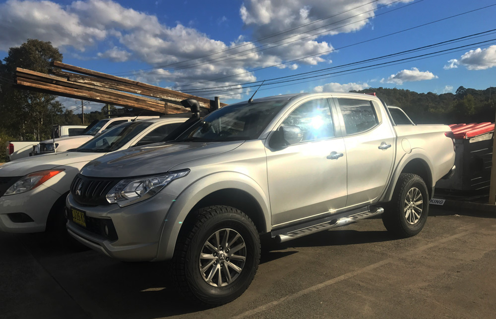 Performance Results: 2016 Mitsubishi Triton 2.4 Turbo Diesel Manual DPF