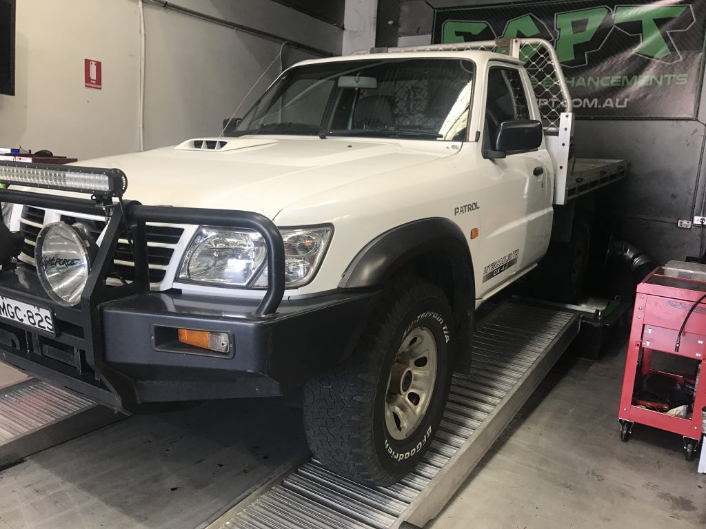 2005 TD42 NISSAN GU PATROL MANUAL UTE | East Coast