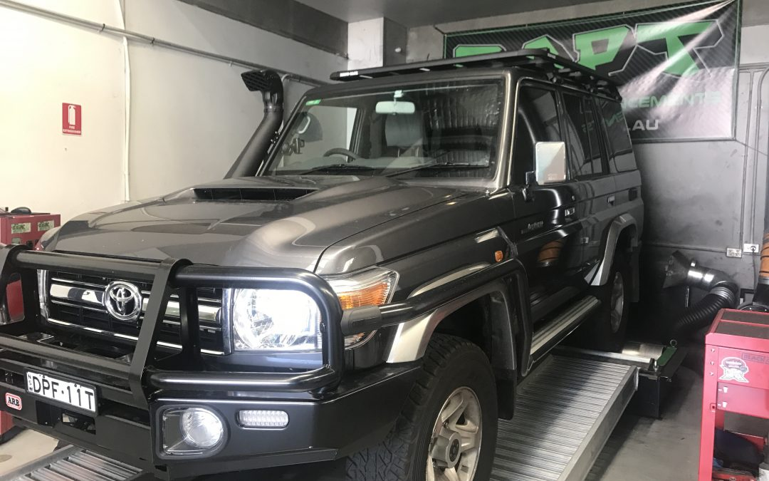 2017 1VD TOYOTA LANDCRUISER 76 SERIES V8 MANUAL