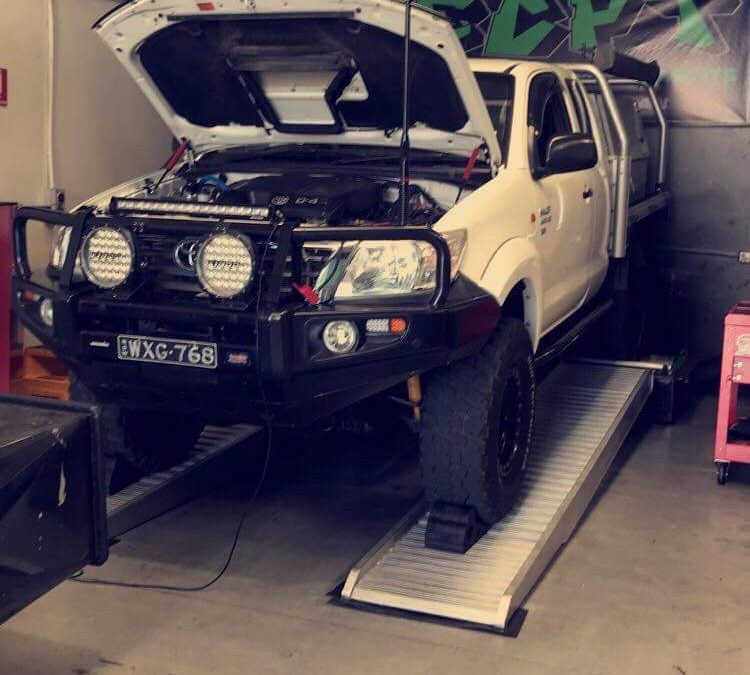 1KD TOYOTA HILUX MANUAL