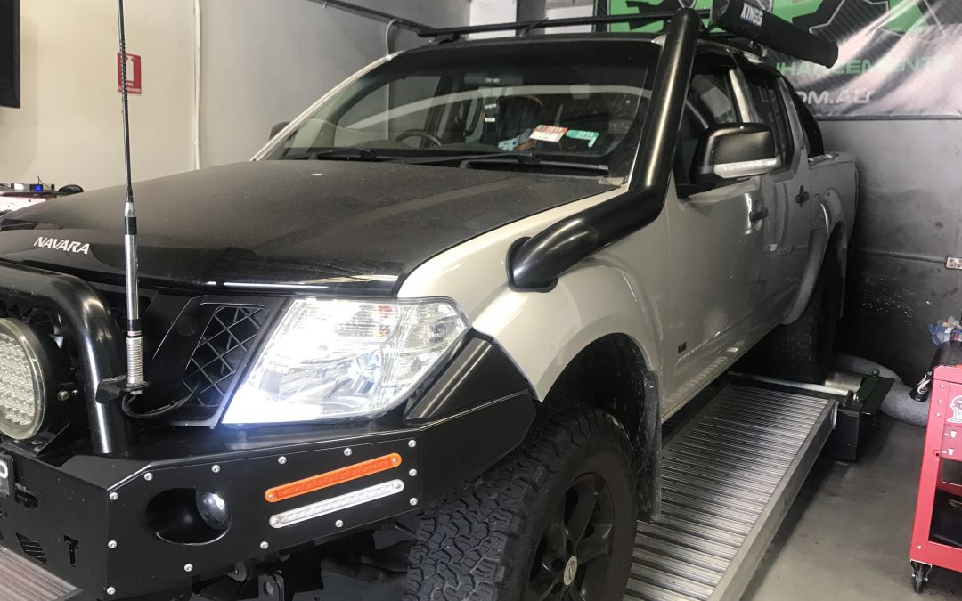 550 NAVARA V6 TURBO DIESEL CUSTOM ECU REMAP