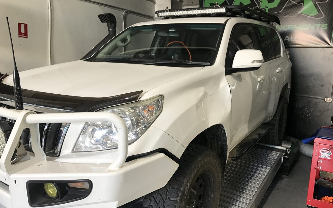 1KD TOYOTA PRADO +30% INJECTORS AND DYNO TUNE/ ECU REMAP